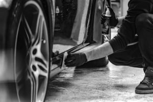 Hochwertiges Polieren Ihres Autos